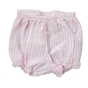 Rare Edition Girl's Pink & White Plaid Bloomers